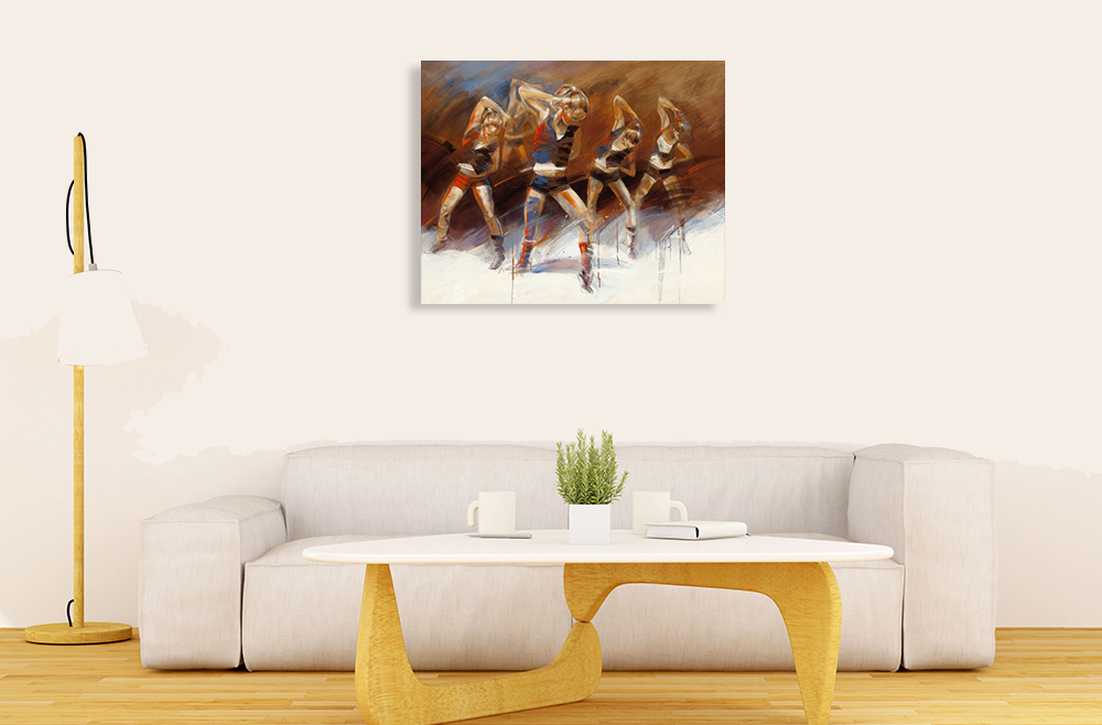 Living Room Wall Canvas Print