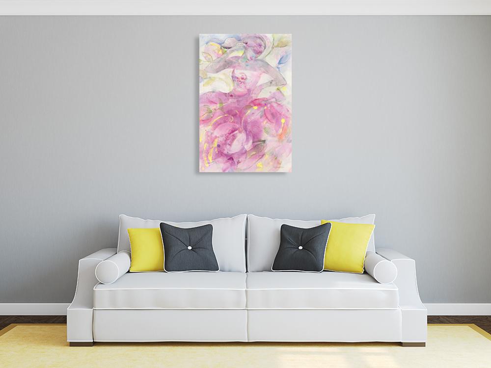 Feminine Woman Canvas Print