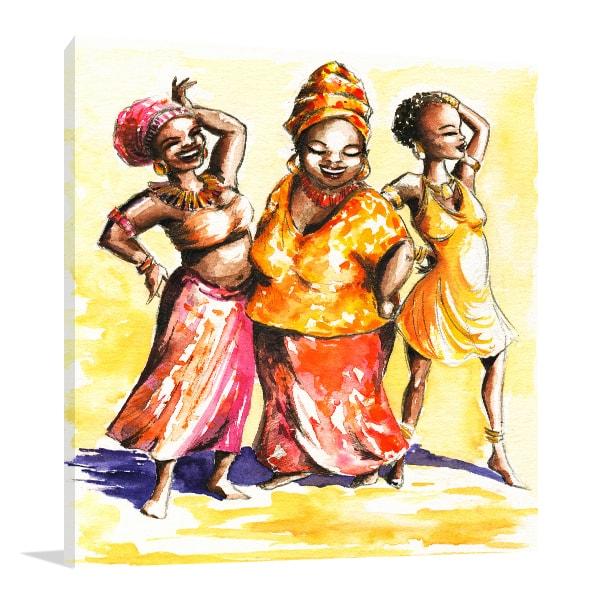 Dancing Canvas Art Prints