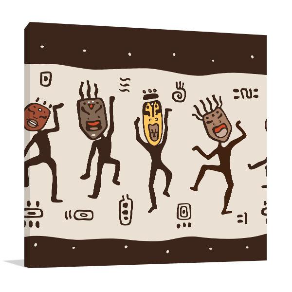 Dancing Figures Artwork