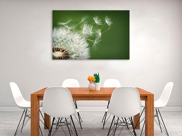 Dandelion Blowing Print Artwork