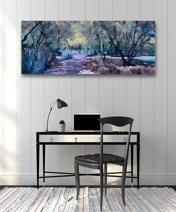 Dark Forest Canvas Art Prints