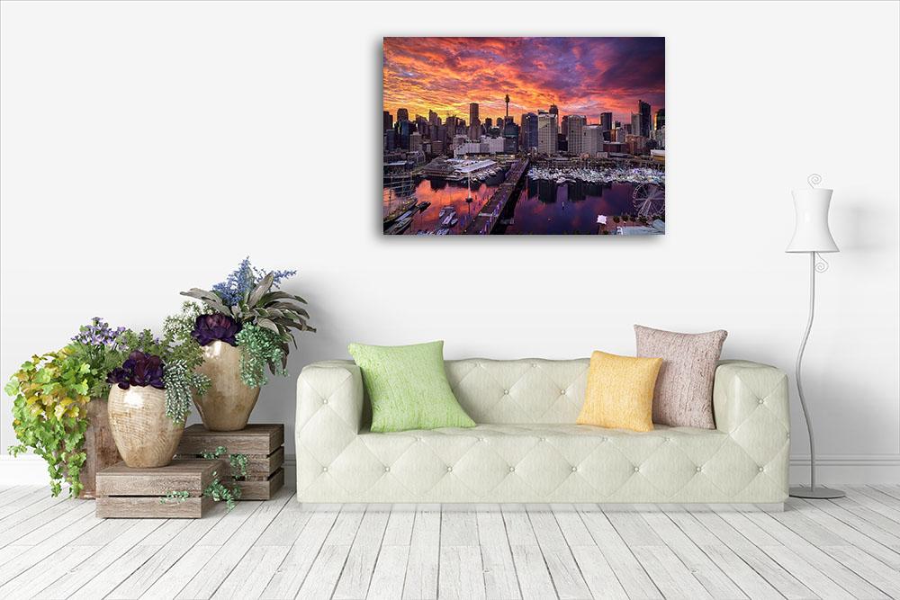 Sydney Australia Canvas Print Photography