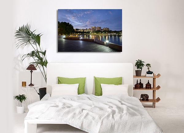 Darwin Waterfront Prints Canvas