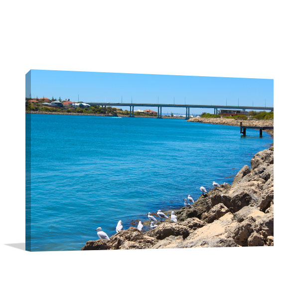 Dawesville Art Print Scenic View