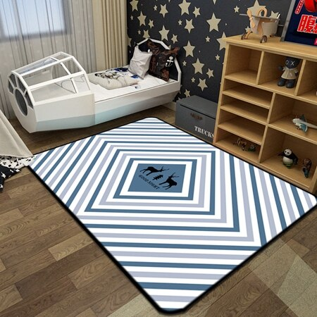 Deer Cartoon Style Rugs | Children Bedroom | Adelaide