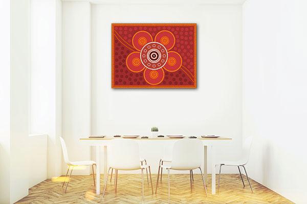 Depicting Flower Canvas Prints