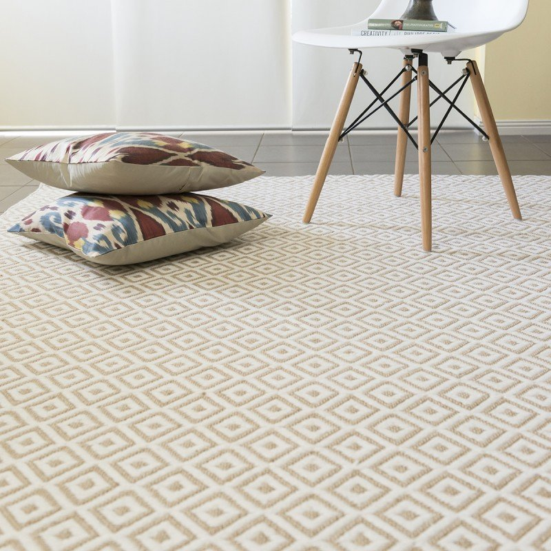 Brisbane Diamond Geometric Online Rugs