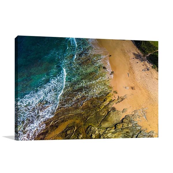 Dicky Beach Queensland Wall Print