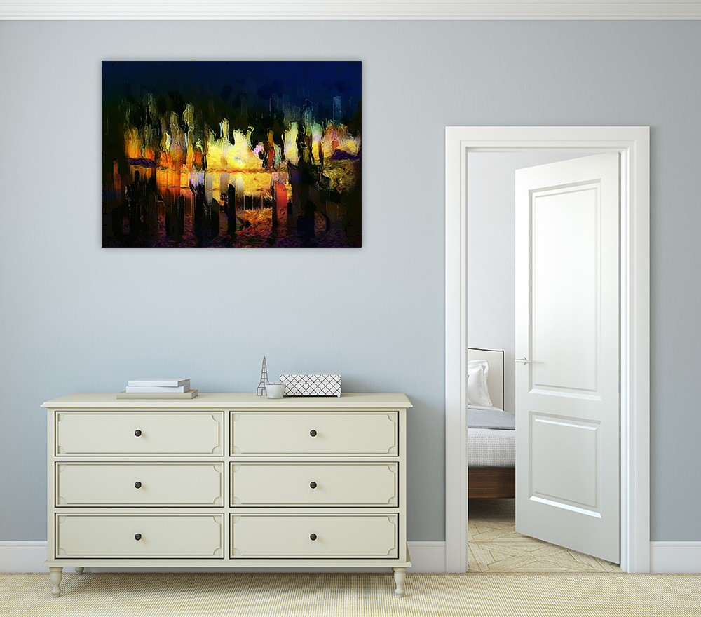 Light Inspiration Print on Canvas