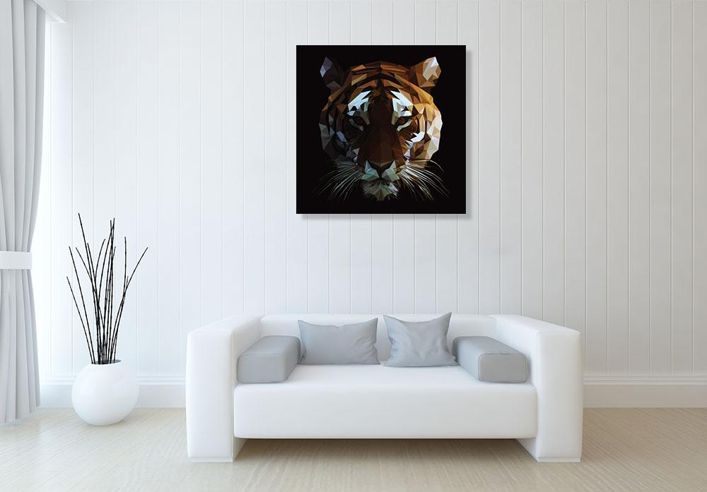 Contemporary Digital Canvas Wall Art