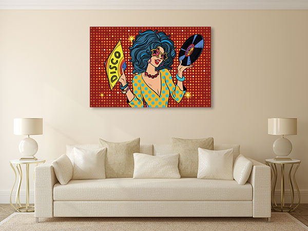 Disco Diva Art Prints