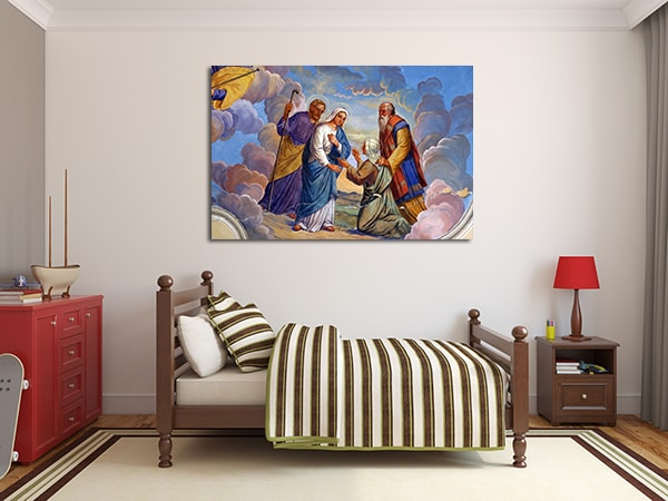 Divine Visitation Canvas Artwork on the Wall