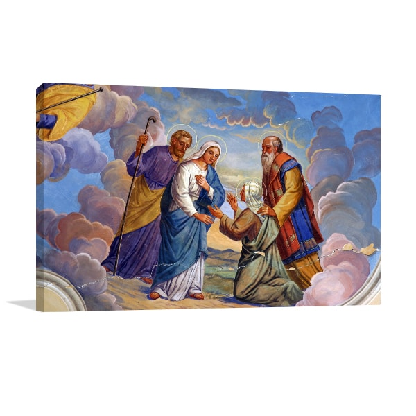 Divine Visitation Canvas Art