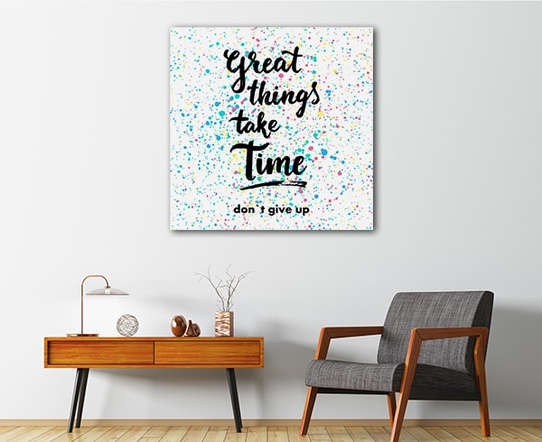 Don't Give Up Canvas Prints