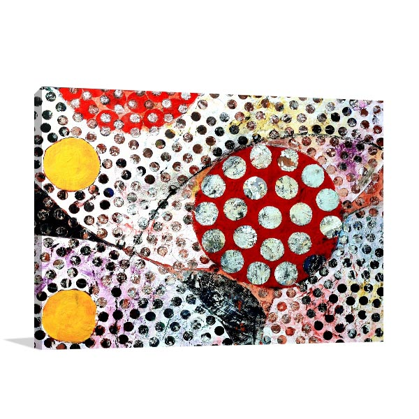 Dots Mixed Media Art Prints