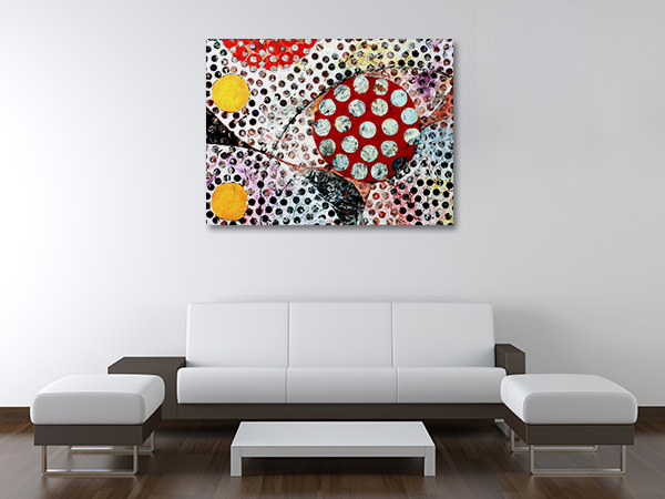 Dots Mixed Media Prints Canvas