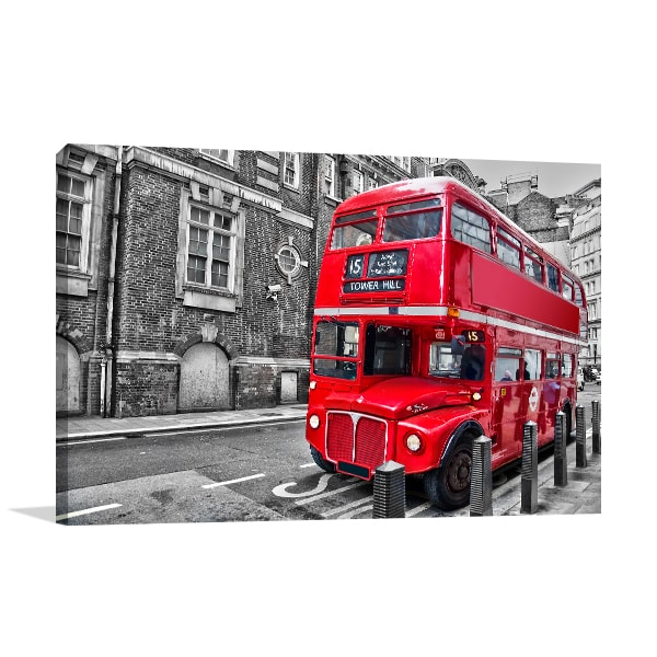 Double Decker Wall Canvas