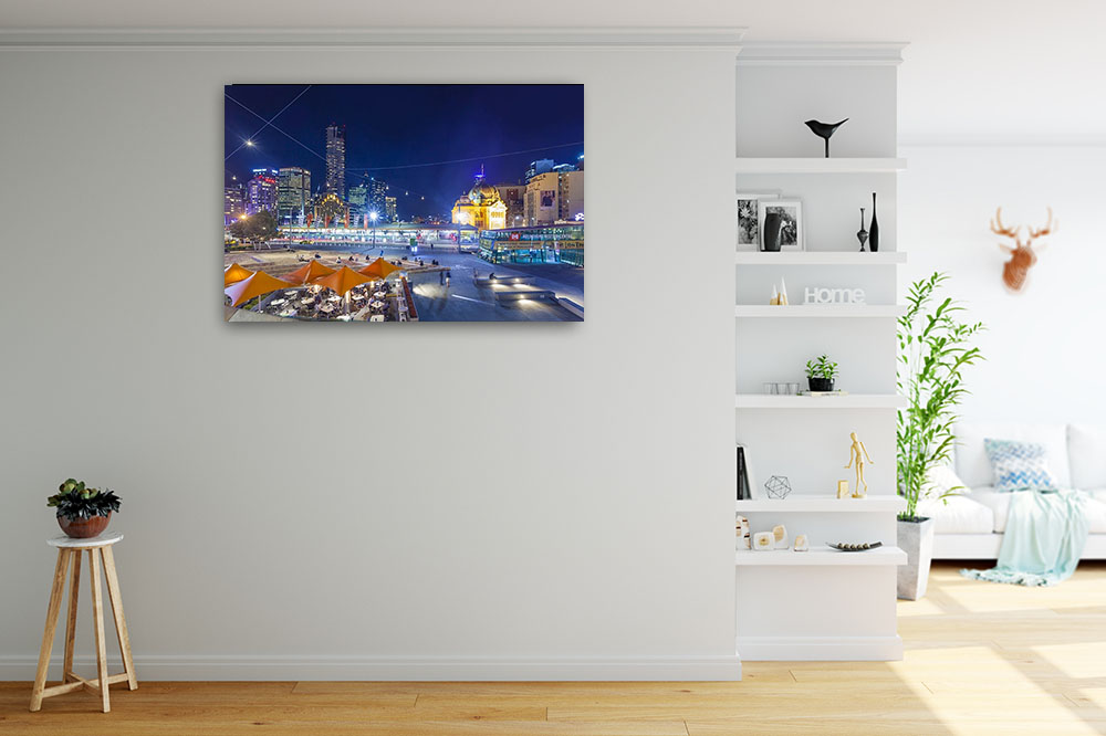 Melbourne Cityscape Photography Print