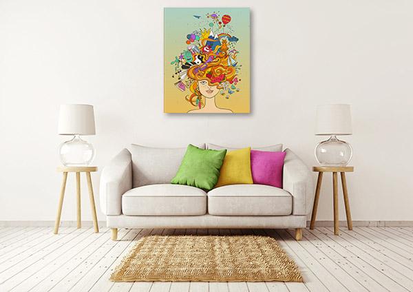 Dreaming Crazy Print Artwork
