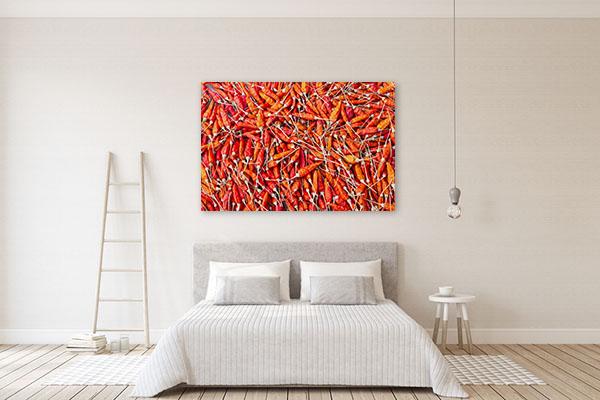 Dried Chili Art Print Wall Art