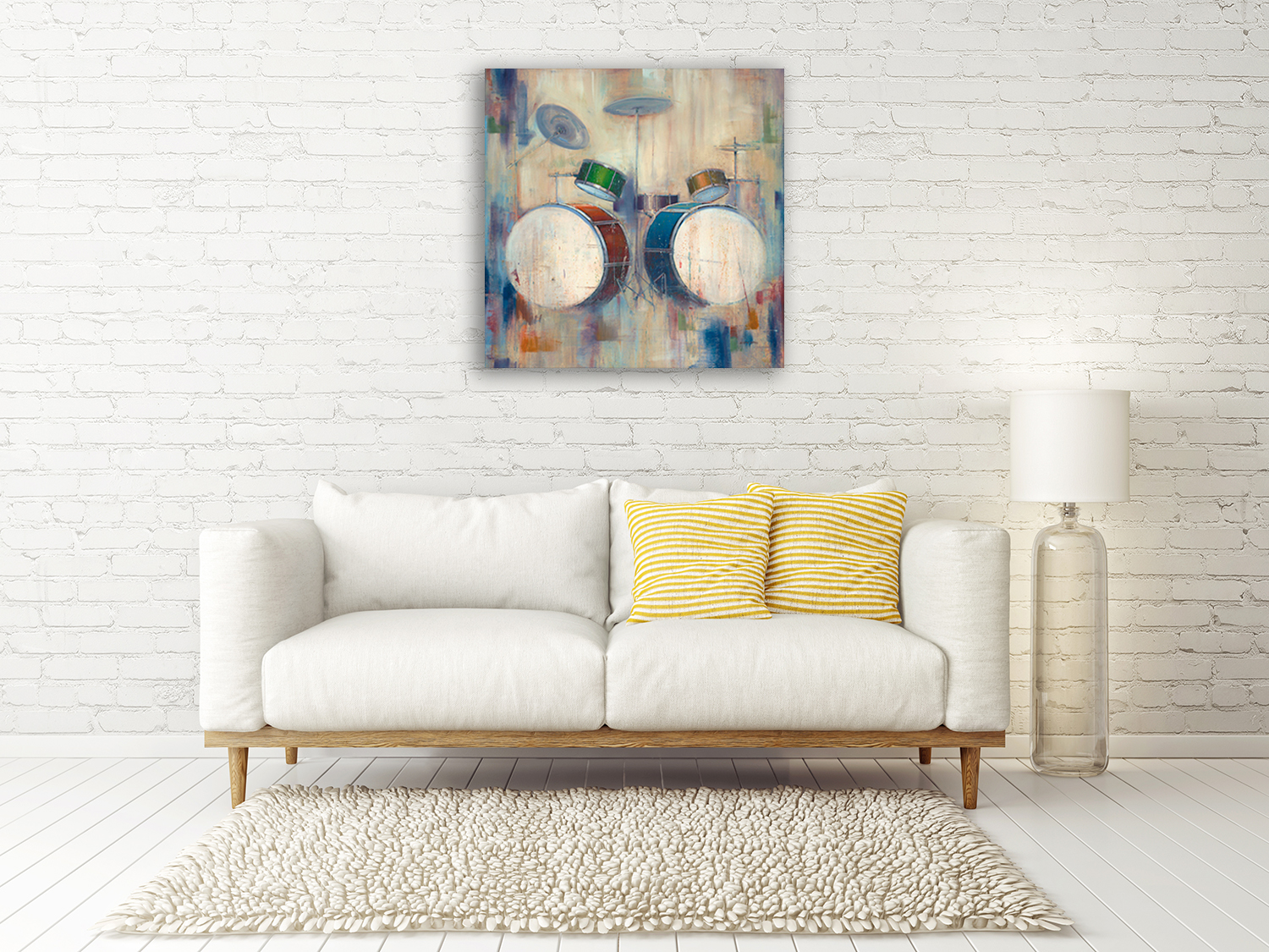 Square Canvas Art Print