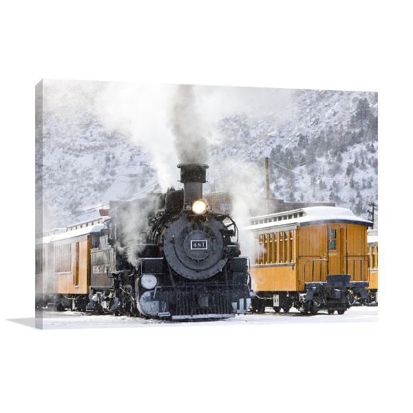 Durango and Silverton Canvas Art