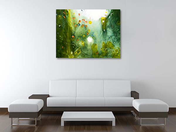 Dying Forest Canvas Prints
