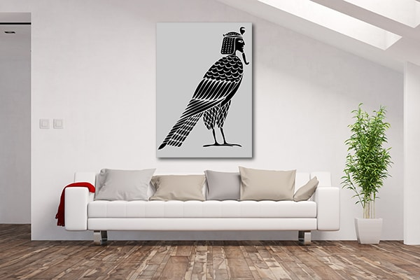 Egyptian Bird Canvas Prints