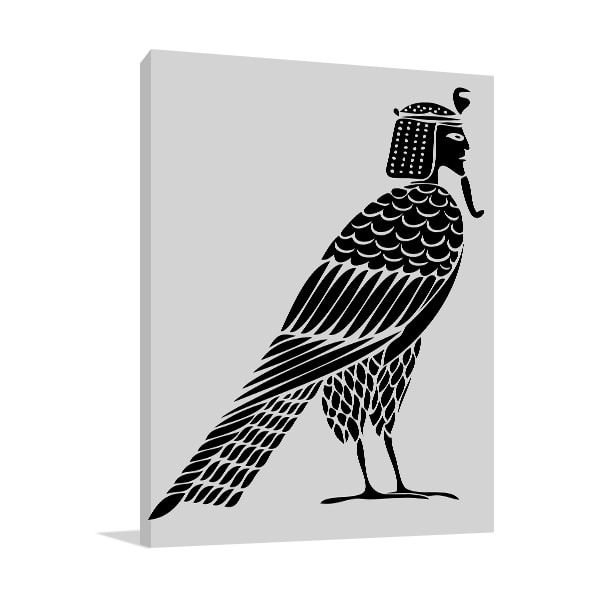 Egyptian Bird Prints Canvas