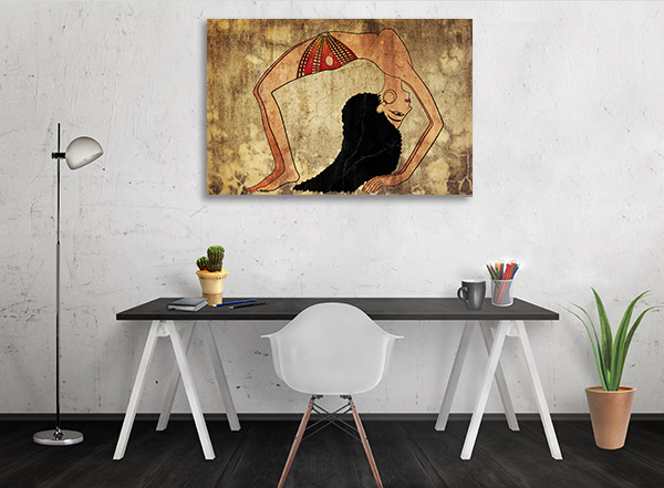 Egyptian Dancer Canvas Prints