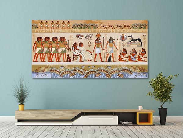 Egyptian Gods Print Artwork