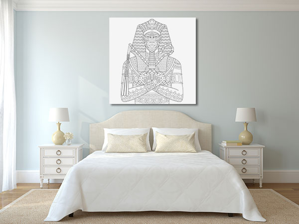 Egyptian Pharaoh Canvas Art