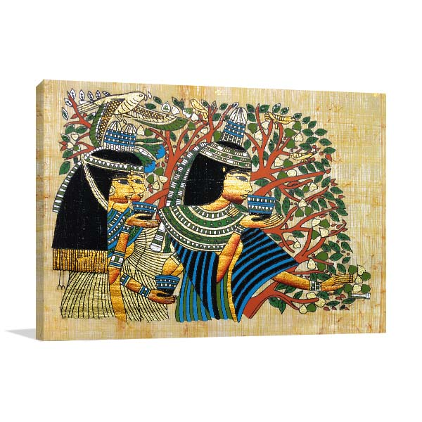Egyptian Ritual Print Artwork