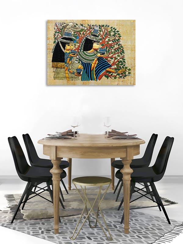 Egyptian Ritual Canvas Prints