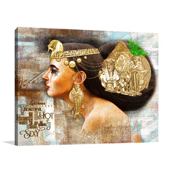 Egyptian Woman Prints Canvas