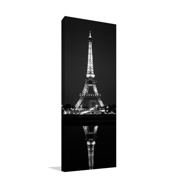 Eiffel Reflection Wall Art Print