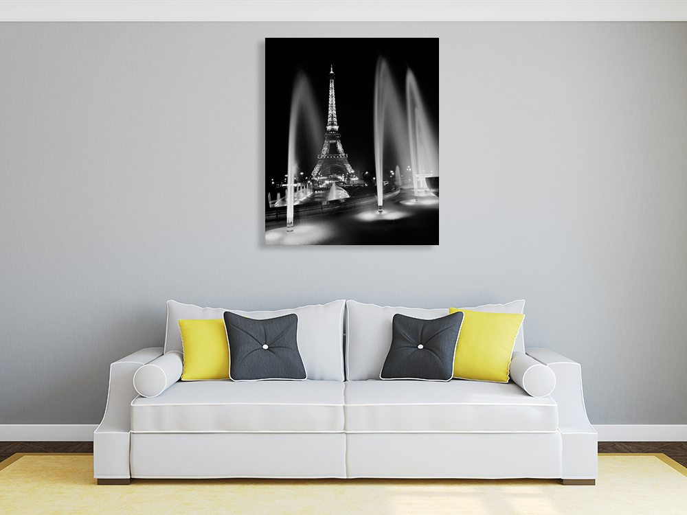 Black and White Wall Print