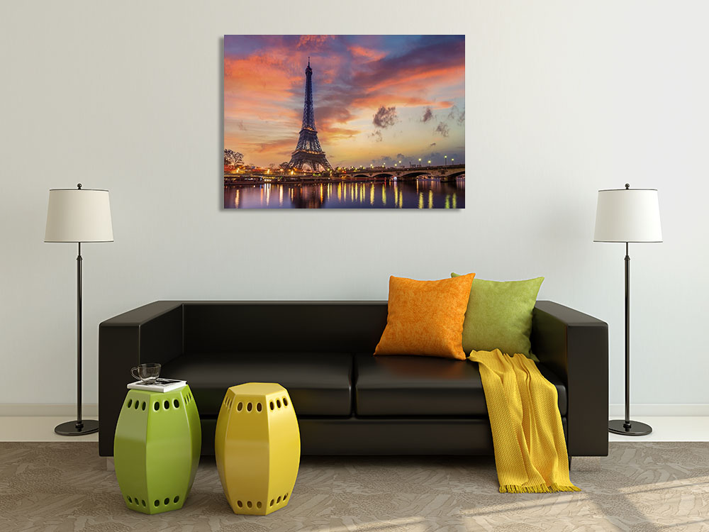 Orange Canvas Print Wall