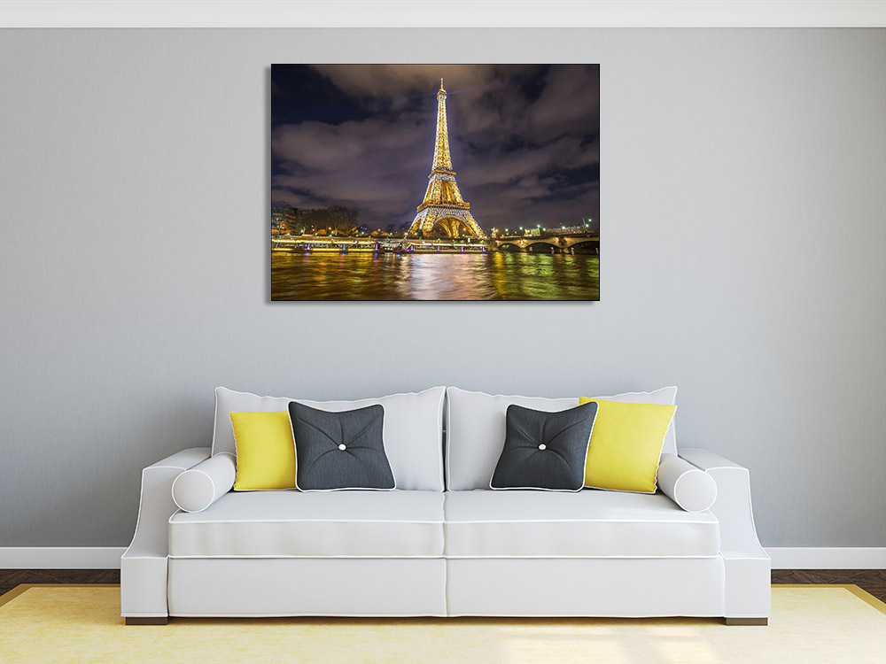 Paris Night Photography Art Print