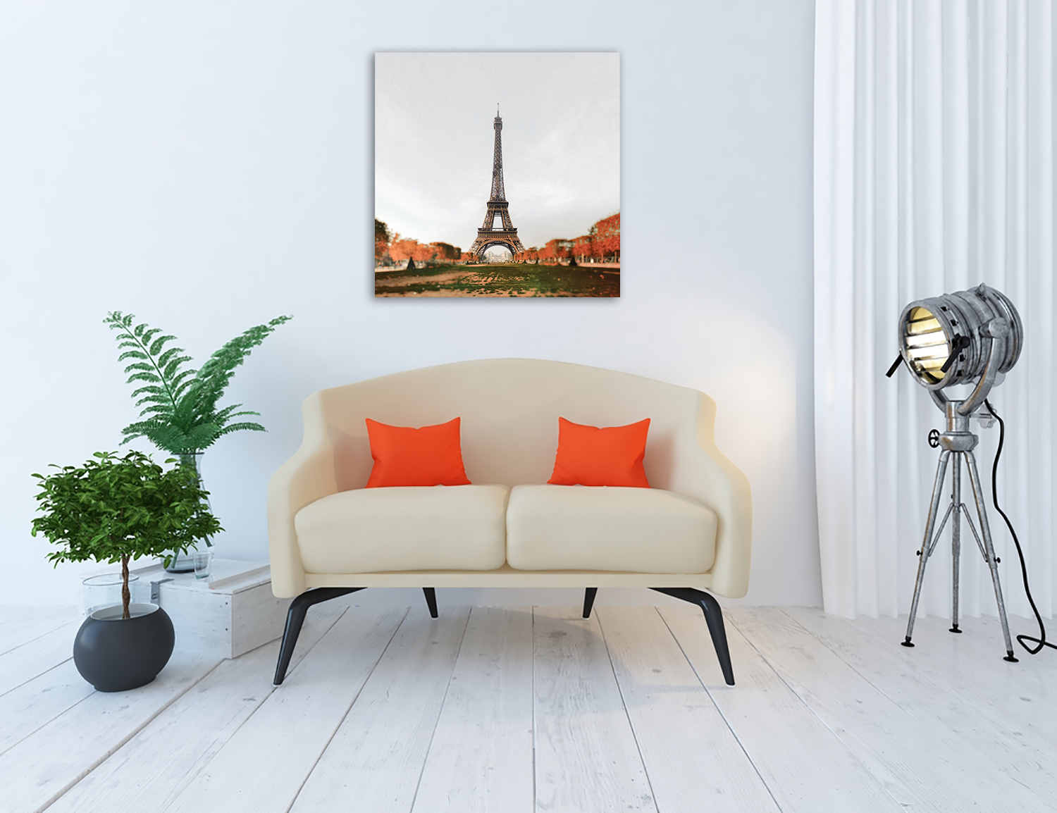 Paris World Top City Print
