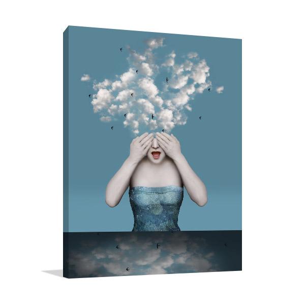 Emotional Girl Canvas Prints