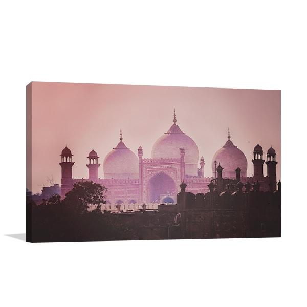Emperor Mosque Print Artwork