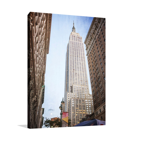 Empire State Building II Wall Art Print