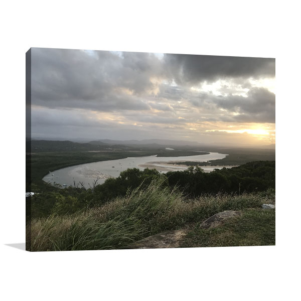 Endeavour Hills Art Print Scenic View