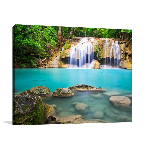 Erawan Waterfall Wall Art