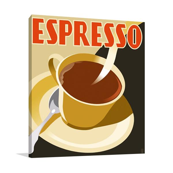 Espresso Coffee Wall Art Print
