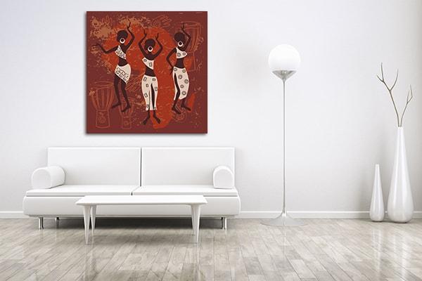 Ethnic Woman Print Artwork