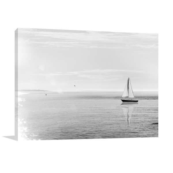 Evening Sail Wall Art Print