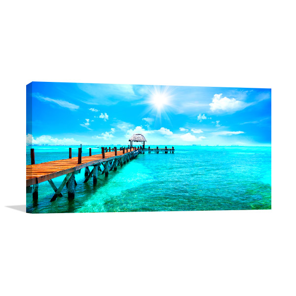Exotic Paradise Canvas Art Prints